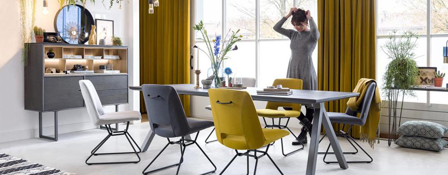 Moderne eetkamerstoel