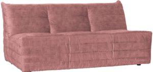 Bag Bank Fluweel - Roze