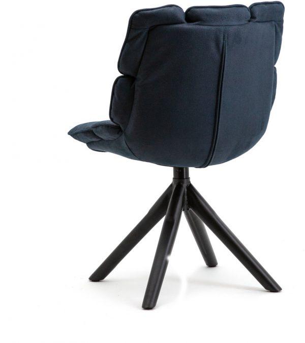 Stoel Daan - Blauw touareg