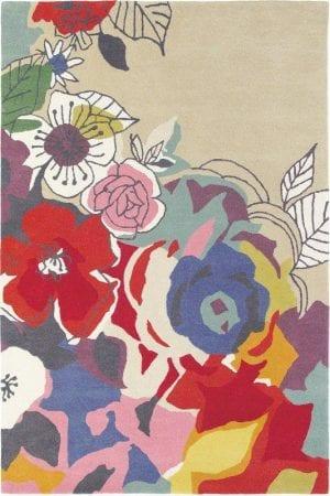 Vloerkleed Estella Ballad 88000 van Brink & Campman is een exclusief handgetuft karpet met een eigenzinnig bloemen design. Het vloerkleed is samengesteld uit scheerwol en is uitgevoerd in de kleur meerkleurig. Het kleed heeft een afmeting van 140 x 200 cm.