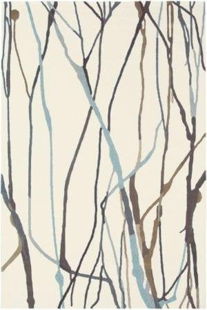 Vloerkleed Estella Drip 878104 van Brink & Campman is een exclusief handgetuft karpet met een eigenzinnig strepen design. Het vloerkleed is samengesteld uit scheerwol en is uitgevoerd in de kleur creme, meerkleurig. Het kleed heeft een afmeting van 140 x 200 cm.
