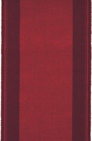 Vloerkleed Loper New Classics 10300 van Brink & Campman is een exclusief loper karpet met een eigenzinnig geborduurd, effen design. Het vloerkleed is samengesteld uit polyamide, wol en is uitgevoerd in de kleur rood. Het kleed heeft een afmeting van 57 x 100 cm.