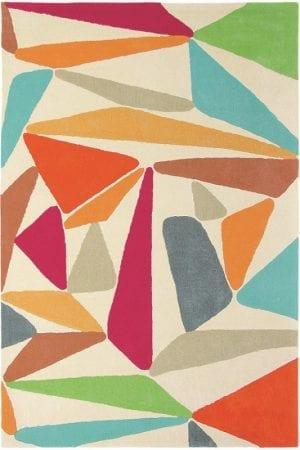 Vloerkleed Xian Triangle 77600 van Brink & Campman is een exclusief handgetuft karpet met een eigenzinnig ruitvormig design. Het vloerkleed is samengesteld uit acryl en is uitgevoerd in de kleur wit, rood. Het kleed heeft een afmeting van 70 x 140 cm.