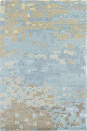 Vloerkleed Yara Mist 134218 van Brink & Campman is een exclusief handgeknoopt karpet met een eigenzinnig verloop design. Het vloerkleed is samengesteld uit nieuw-zeeland wol, seide / viskose, tibetaans wol en is uitgevoerd in de kleur blauw, bruin, meerkleurig. Het kleed heeft een afmeting van 140 x 200 cm.