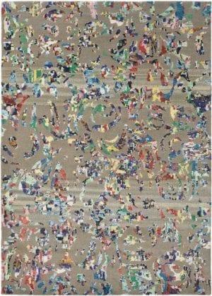 Vloerkleed Yeti Avalanche 51804 van Brink & Campman is een exclusief handgeknoopt karpet met een eigenzinnig strepen design. Het vloerkleed is samengesteld uit scheerwol en is uitgevoerd in de kleur taupe, meerkleurig. Het kleed heeft een afmeting van 140 x 200 cm.