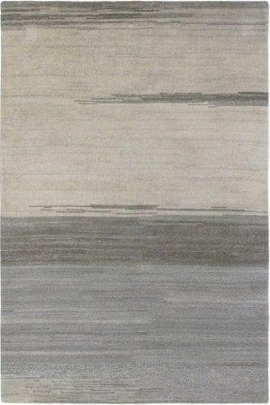 Vloerkleed Yeti Sky 51104 van Brink & Campman is een exclusief handgeknoopt karpet met een eigenzinnig strepen, verloop design. Het vloerkleed is samengesteld uit scheerwol en is uitgevoerd in de kleur grijs. Het kleed heeft een afmeting van 140 x 200 cm.