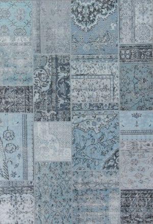 Vloerkleed Bukan - light blue uit de Festival karpetten collectie van Brinker Carpets - 160 x 230