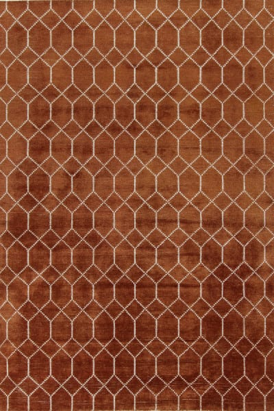 Vloerkleed Laatz - terra uit de Feel Good karpetten collectie van Brinker Carpets - 170 x 230