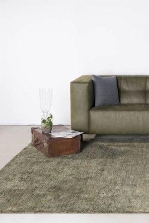 Vloerkleed Mateo - green uit de Feel Good karpetten collectie van Brinker Carpets - 170 x 230