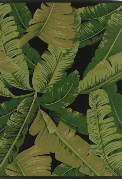 Vloerkleed Nature Leaves - black uit de Festival karpetten collectie van Brinker Carpets - 160 x 230
