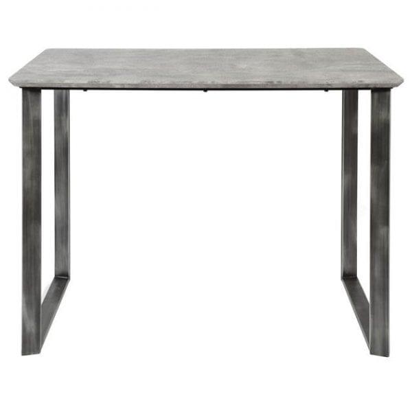 Bartafel 120cm 45°  frame / 3D betonlook grijs. 3721/62 uit de bartafels collectie van Zijlstrakleinmeubelen & verlichting bij Löwik Meubelen