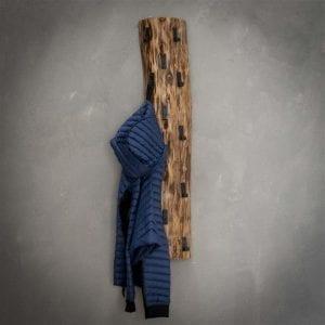 Kapstok boomstam 14 haken / Massief acacia naturel. 2496/15 uit de kapstokken collectie van Zijlstrakleinmeubelen & verlichting bij Löwik Meubelen