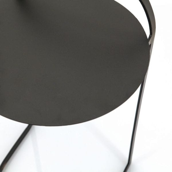 bijzettafel garcon zwart Bijzettafel IN.HOUSE Accessoires Lowik Meubelen