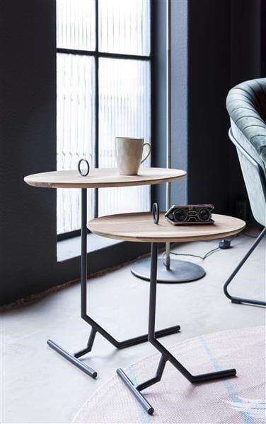 bijzettafel Nylah - set van 2 - hoogte 40 + 50 cm Coco Maison SMALLFURN Lowik Wonen & Slapen