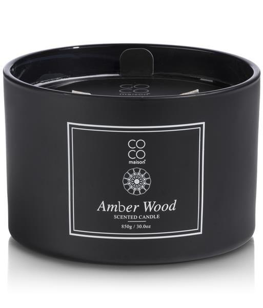 geurkaars XL Amber Wood Coco Maison CANDLES Lowik Wonen & Slapen