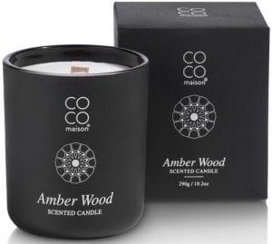 geurkaars large Amber Wood Coco Maison CANDLES Lowik Wonen & Slapen