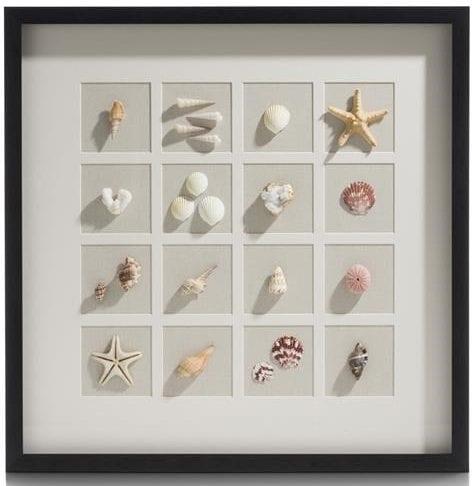 3-D wand-object Ocean Treasures - 73 x 73 cm Coco Maison PAINTING Lowik Wonen & Slapen