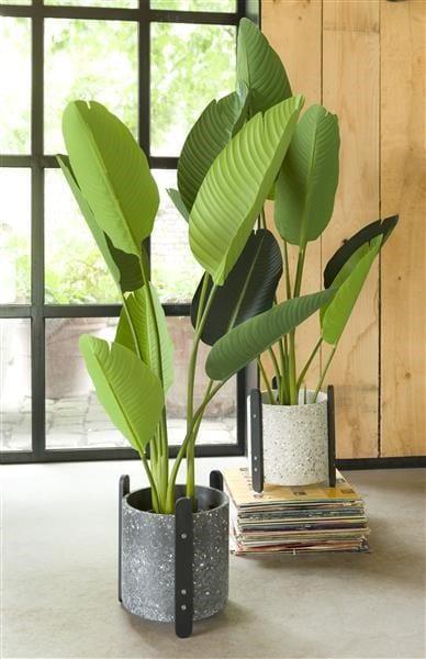 plantenpot Terrazzo - antraciet / beige Coco Maison ACCESOIRES Lowik Wonen & Slapen