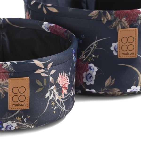 2 mandjes - flower print Coco Maison ACCESOIRES Lowik Wonen & Slapen