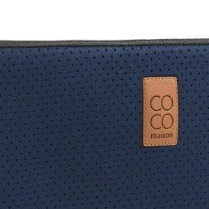 laptoptas large - blauw Coco Maison ACCESOIRES Lowik Wonen & Slapen