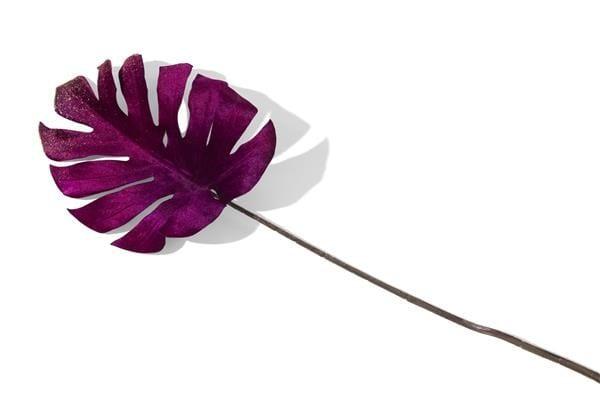 Monstera Leaf Velvet - 75 cm Coco Maison FLOWERS Lowik Wonen & Slapen