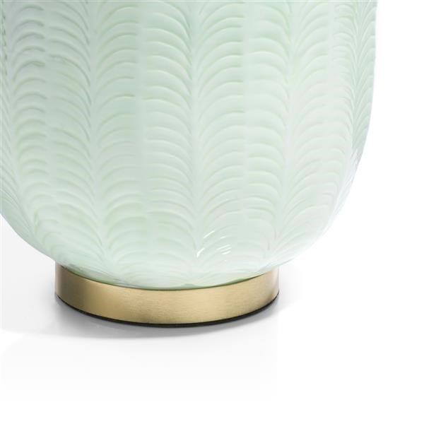 schaal Agata - aluminium - mint Coco Maison ACCESOIRES Lowik Wonen & Slapen