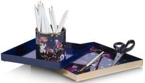 tray Flower 20 x 20 / 25 x 25 cm - set van 3 Coco Maison ACCESOIRES Lowik Wonen & Slapen