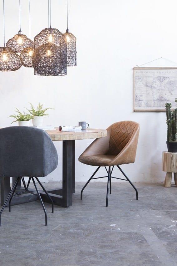 Mango tafel rond van Eleonora - diameter 130 cm - 22787