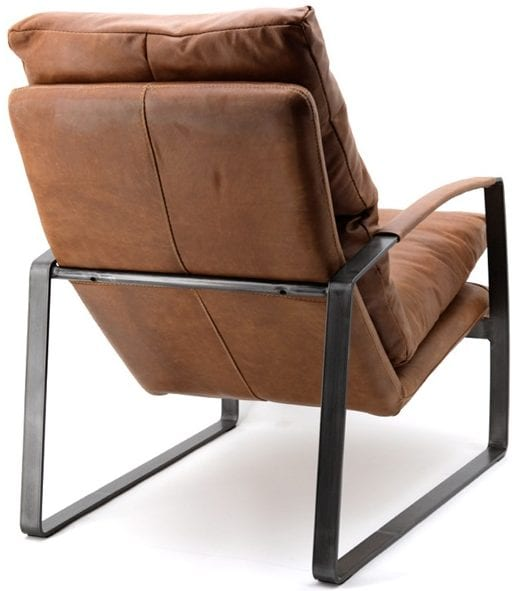 Lex fauteuil cognac