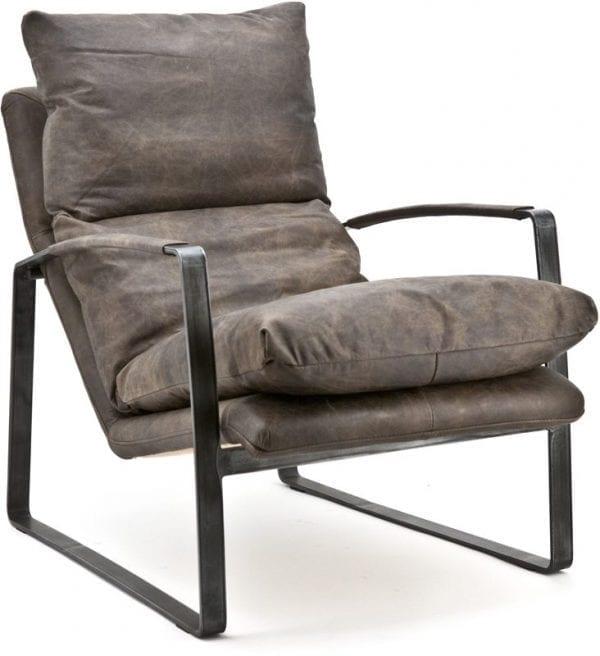 Fauteuil Lex, vintage en stoer design van Eleonora