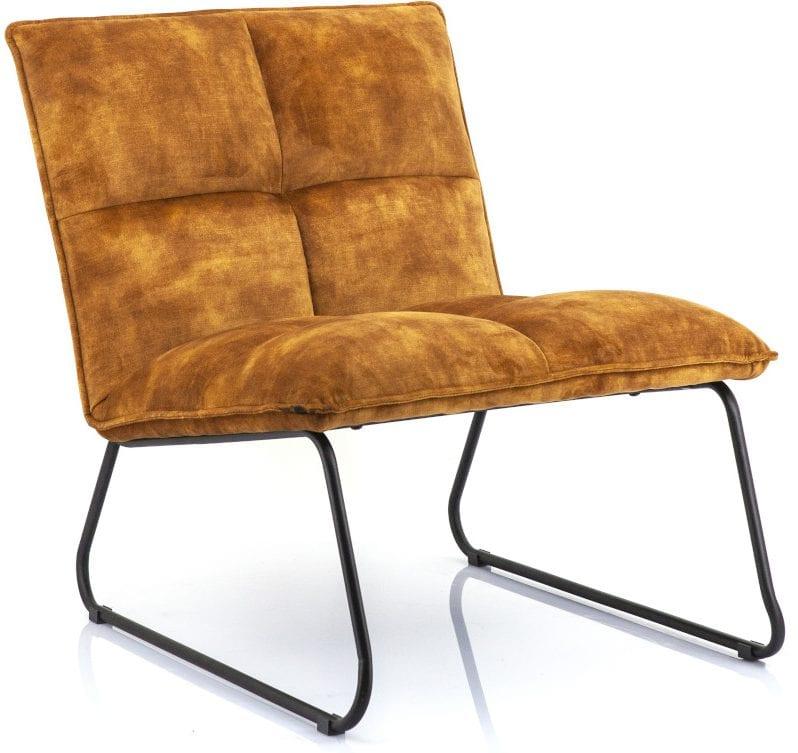 Ruby fauteuil - oker adore