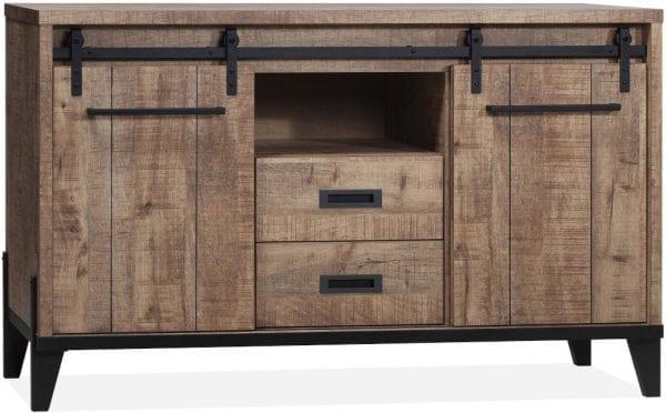 Vigo dressoir uitgevoerd in Lamulux Mango - Camino Feelings