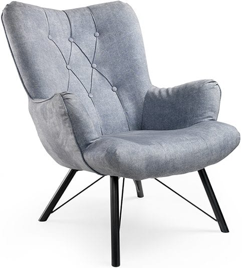 Fauteuil Lieke, retro design fauteuil uit de Feelings collectie