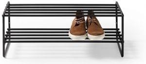 Clint schoenenrek Metaal zwart schoenenrek 70x29x27(h) Feelings Lowik Meubelen