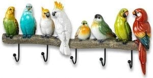 Exotic birds kapstok   kapstok 39(b) Feelings Lowik Meubelen