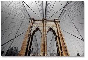 Wanddecoratie Brooklyn bridge Wanddecoraties en spiegels Feelings Lowik Meubelen