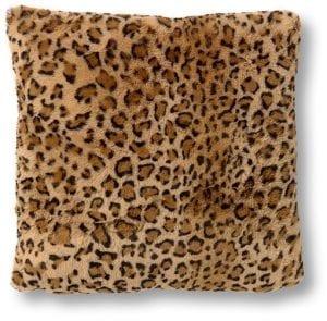 Leopard sierkussen bruin   Feelings Lowik Meubelen