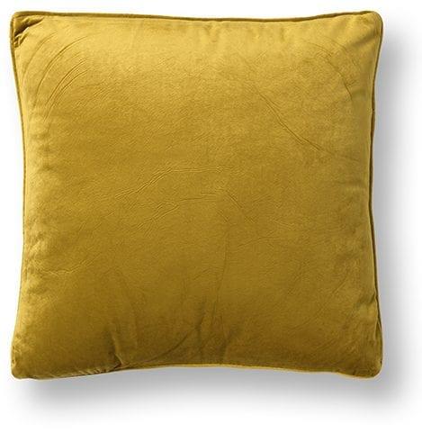 Velluto sierkussen mustard geel mustard geel  Sierkussen Velluto mustard geel Feelings Lowik Meubelen
