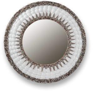 Giglia spiegel   Spiegel Giglia 80x80 Feelings Lowik Meubelen