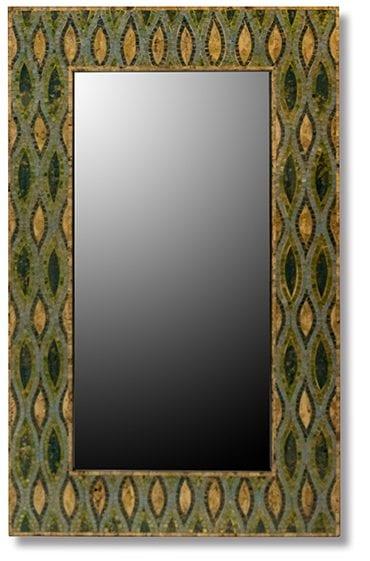 Mozaiek spiegel blue mosaic  Spiegel Mozaiek 90x90 Feelings Lowik Meubelen