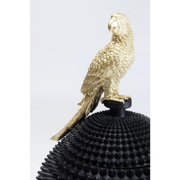 Deco Box Parrot 51066 Korpus: Polyresin, handgemaakt Kare Design
