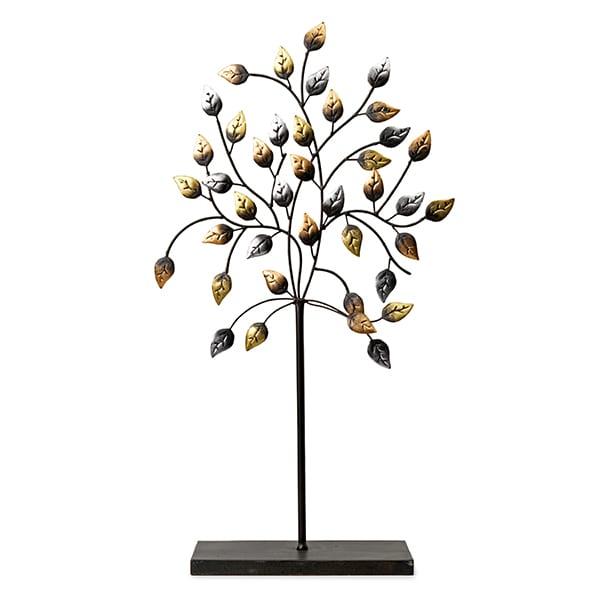 Fagus boom op voet goud   Feelings Lowik Meubelen
