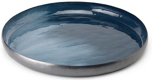 Fiji schaal Metaal blue pewter - fiji  Feelings Lowik Meubelen