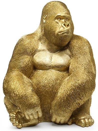 Gorilla XL goud  Gorilla XL 60x55x76 Feelings Lowik Meubelen