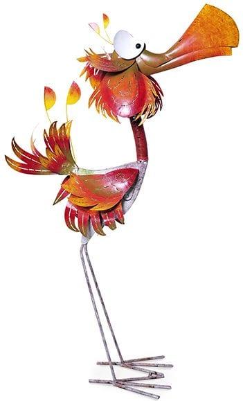 Huge red bird   Huge red bird 143(h) Feelings Lowik Meubelen