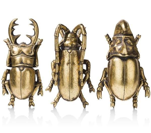 set van 3 Insects COCO MAISON ACCESOIRES Lowik Wonen & Slapen