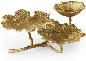 Lotus schaal gold  Schaal Lotus 49x22x18(h) Feelings Lowik Meubelen