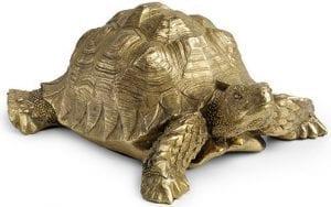 Turtle small gold  <p>Turtle 26x20x10(h)</p> Feelings Lowik Meubelen