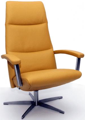 Relaxfauteuil Volo Carlo, uit de fauteuil collectie van Gealux, oogstrelend modern design met een subliem zitcomfort