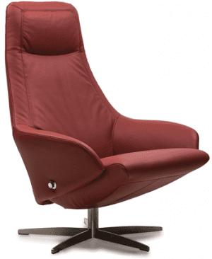Relaxfauteuil Volo Charlotte, uit de fauteuil collectie van Gealux, oogstrelend modern design met een subliem zitcomfort
